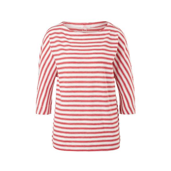 Streifenshirt mit Fledermausärmeln - Fledermaus-Shirt