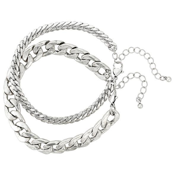 Herren Armband-Set - Duo Chain