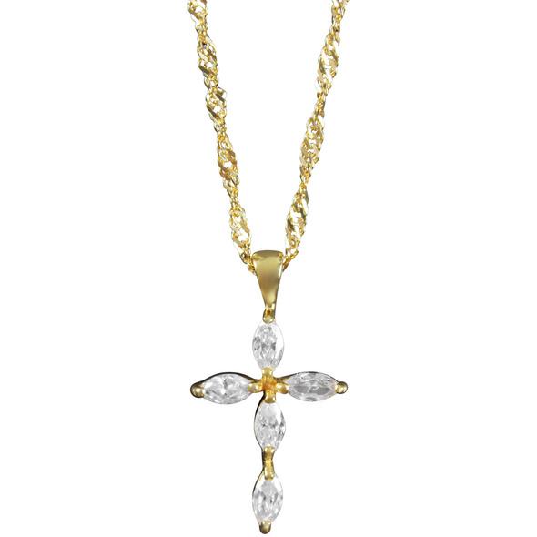 Kette - Cross of Gold