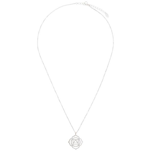 Kette - Root Chakra Silver