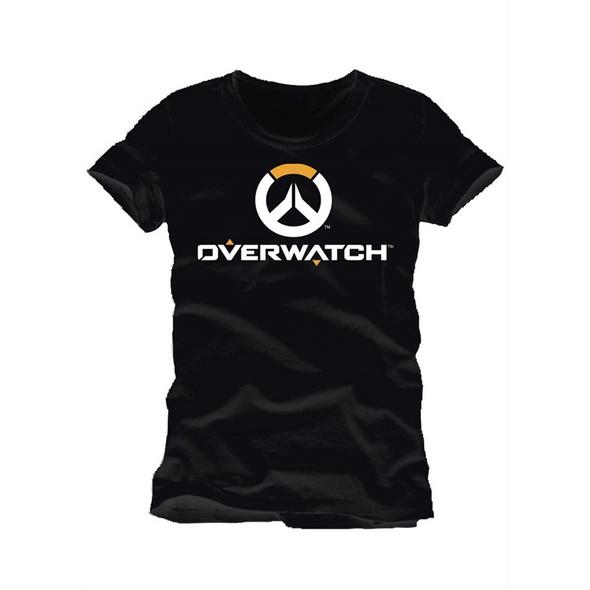 Overwatch - T-Shirt Logo schwarz (Größe M)