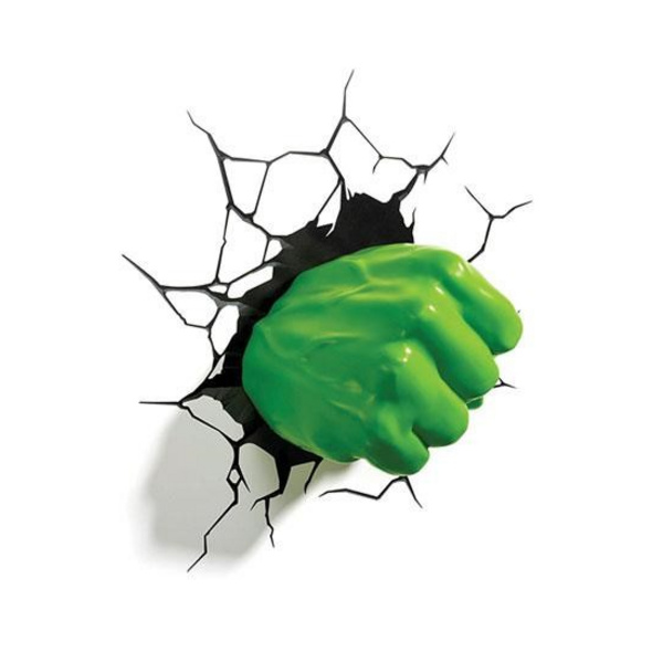 Marvel Hulk - Leuchte Hulk Faust 3D