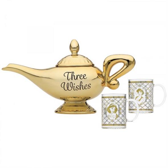 Disney Aladdin - Teekanne + 2 Gläser