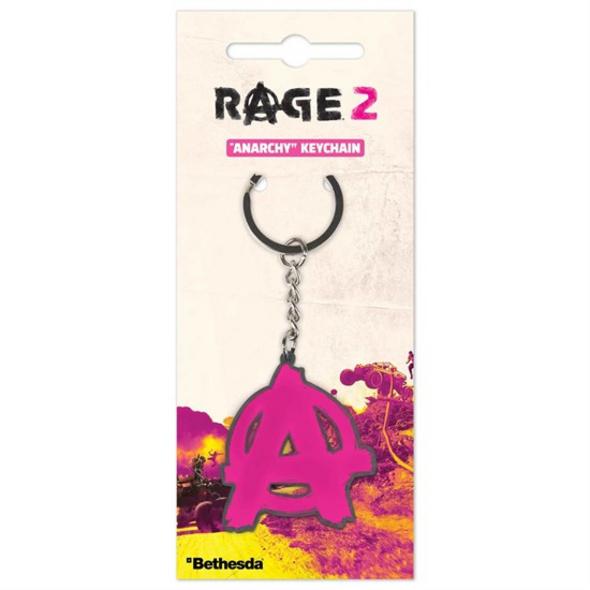 Rage 2 - Schlüsselanhänger Anarchy