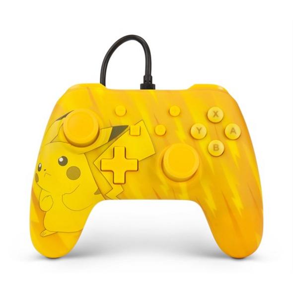 Nintendo Switch PowerA Wired Controller Pikachu
