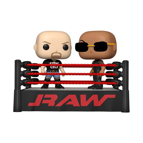 WWE - POP!-Vinyl Figur The Rock VS Stone Cold
