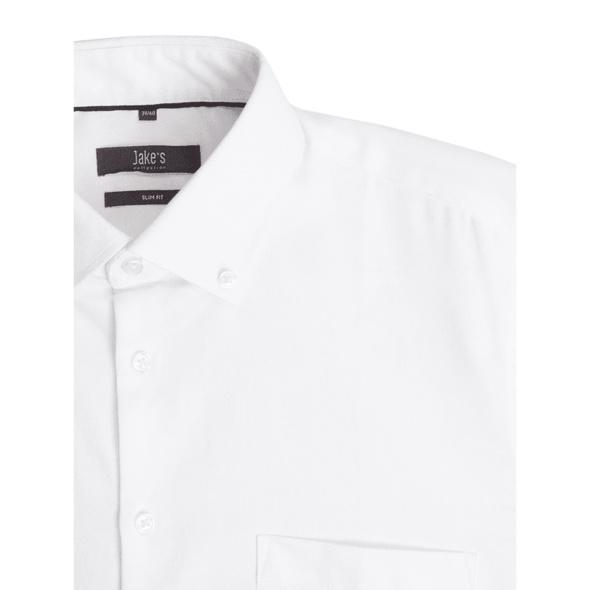 Slim Fit Business-Hemd aus Oxford