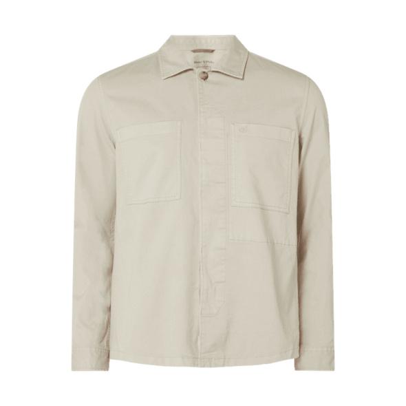 Slim Fit Freizeithemd aus Bio-Baumwolle