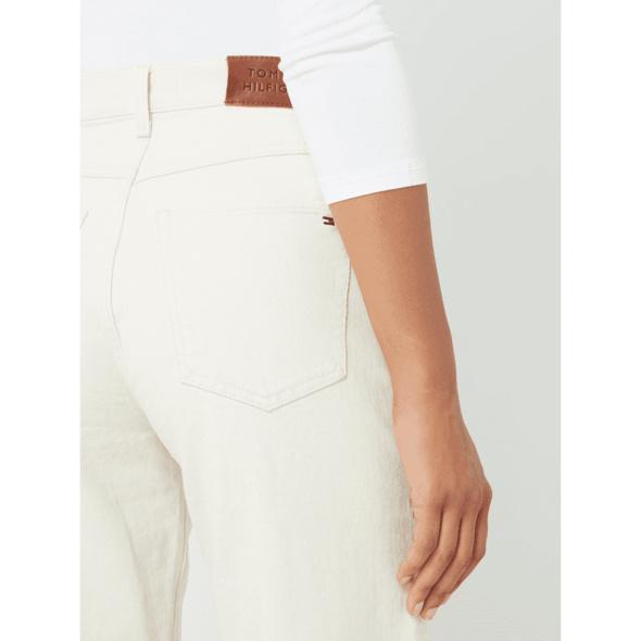 Tapered Fit Jeans mit Bio-Baumwolle