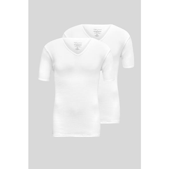 Multipack 2er - Unterhemd - Doppelripp - Bio-Baumwolle
