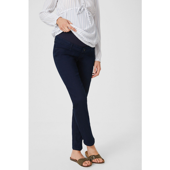 Straight Jeans - Umstandsjeans