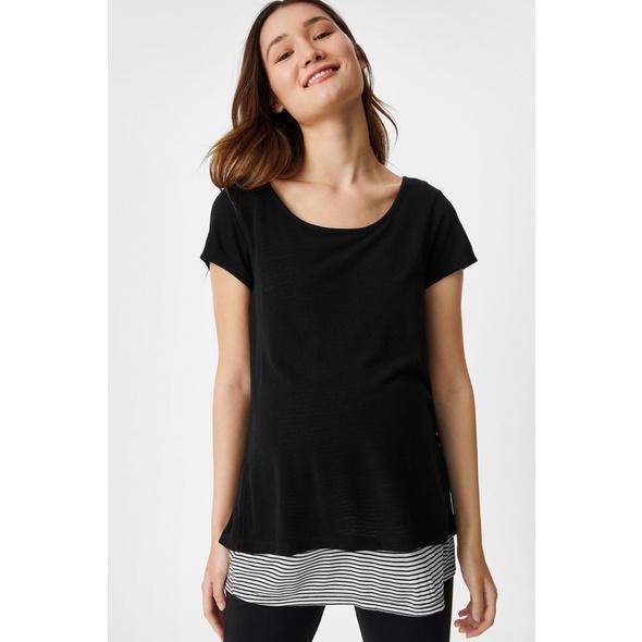 Still-T-Shirt - 2-in-1-Look