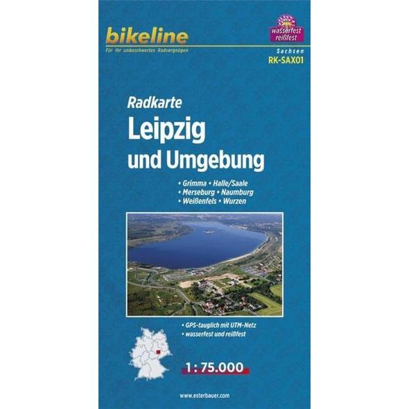 Bikeline Radkarte Deutschland Leipzig und Umgebung 1 : 75 000