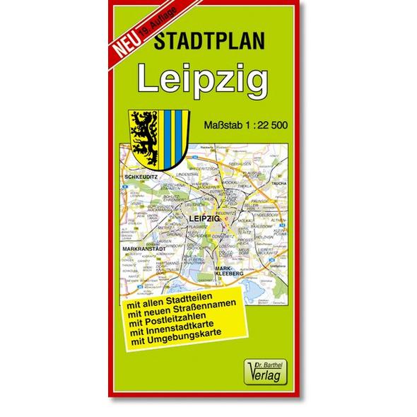 Stadtplan Leipzig 1 : 22 500