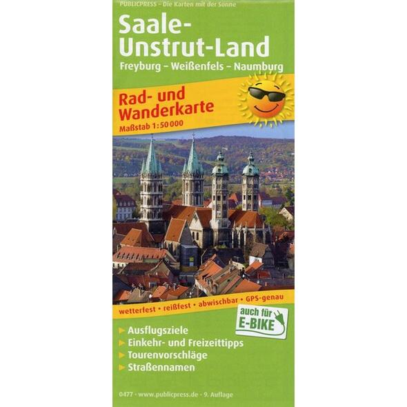 Saale-Unstrut-Land 1 : 50 000
