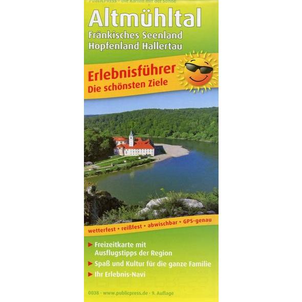 Altmühltal, Fränkisches Seenland - Hopfenland Hallertau
