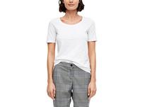 T-Shirt in Unicolor - Jerseyshirt