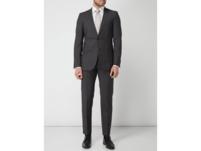 Anzug-Hose mit Webmuster