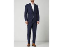 Anzughose mit Stretch-Anteil in gerader Passform