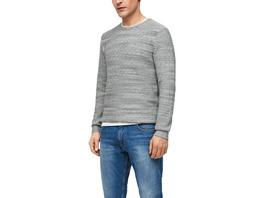 Pullover mit Strukturmuster - Feinstrickpullover