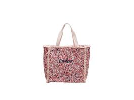 Canvas-Shopper mit Stickerei - Tasche