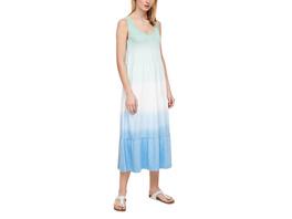 Stufenkleid mit Farbverlauf - Maxi-Kleid