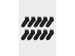Socken - Bio-Baumwolle - 10 Paar