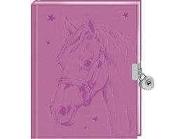 Tagebuch - Pferdefreunde - Mein Tagebuch (rosa)